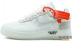 Мужские кроссовки Nike Air Force 1 x Off White AO4606-100, Найк Аир Форс