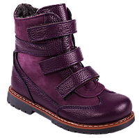 Ортопедические ботинки  зимние М-760 р. 21-30