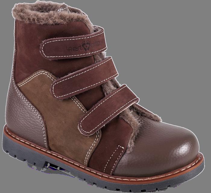 Зимние ортопедические детские ботинки 06-756 р-р. 21-36