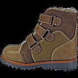 Зимние ортопедические детские ботинки 06-756 р-р. 21-36, фото 3