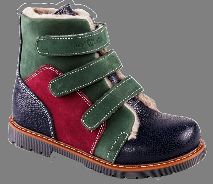 Ортопедические ботинки  зимние М-753 р. 21-30