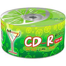 Носії інформації KAKTUZ CD-R 700Mb 52x Bulk 50 pcs ''LIME''