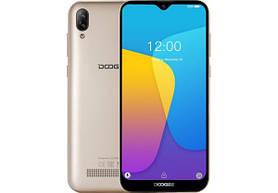 Doogee Y8C gold смартфон 1/8GB ,8MP 6.1'', + подарок