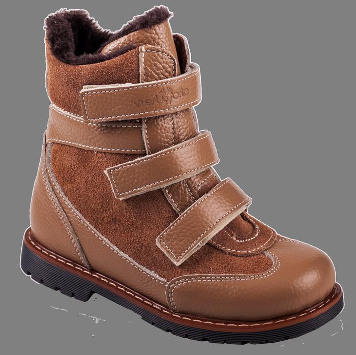 Ортопедические ботинки  зимние М-7621  р. 21-30