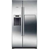 Холодильник side by side с морозильником серебристый Bosch KAG90AI20, фото 1