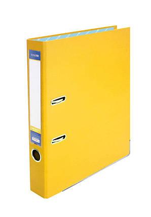 Папка-реєстратор Economix 39720*-05, А4, 50 мм, жовтий (зібрана), фото 2