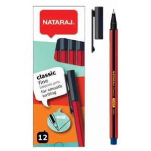 Ручка кулькова Classik206500001 синя 0.7 мм (12/1200) (NATARAJ), фото 2
