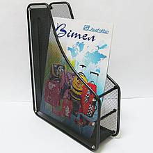 1988-1-ВК Лоток для паперу метал.вертик.1 секції,чорн.(BJ-3004)