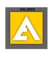 Порошковая Краска ETIKA RAL 9003 Матовый (Полиэфирная основа)