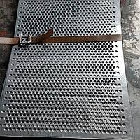 Решето (сито) для Сепаратора (710х1420 мм.), толщина 0.8, ячейка 3 мм, оцинкованный металл
