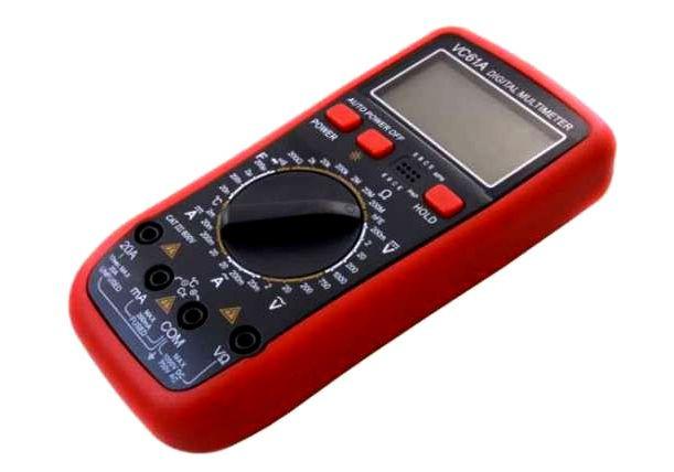 Цифровой мультиметр тестер VC61