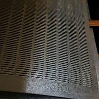 Решето (сито) для Сепаратора (710х1420 мм.), толщина 0.8, ячейка 2,6х20 мм, оцинкованный металл