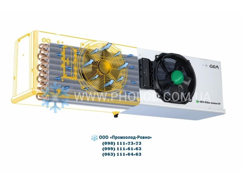 Кубический воздухоохладитель GEA Kuba SPBE 45-F31