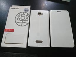 Чехол-книжка Flip Cover для Lenovo S856 White