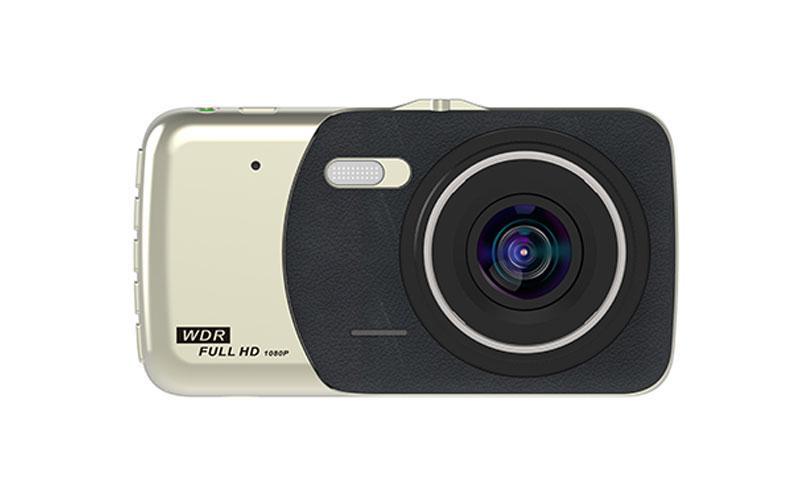 Автомобильный видеорегистратор DVR CT503 с 4,0-дюймовым HD экраном 2 камеры