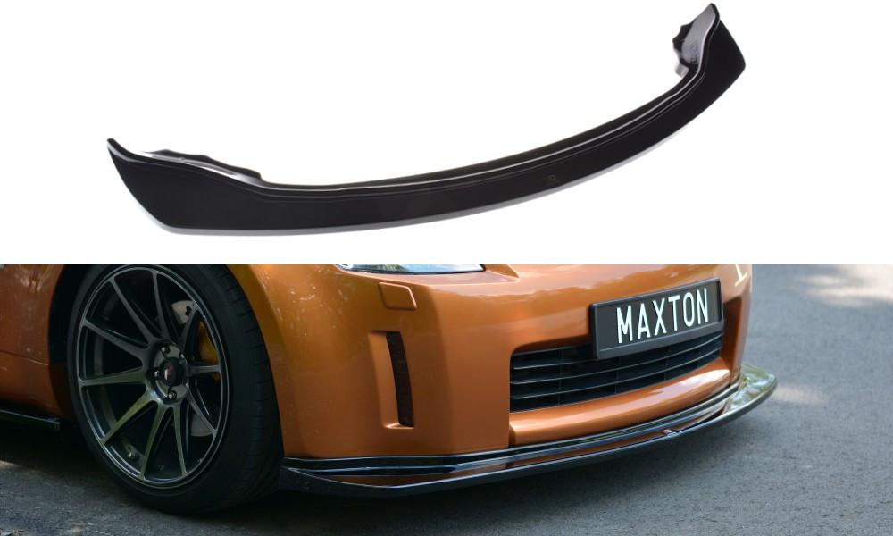 Диффузор переднего бампера губа элерон накладка тюнинг Nissan 350Z