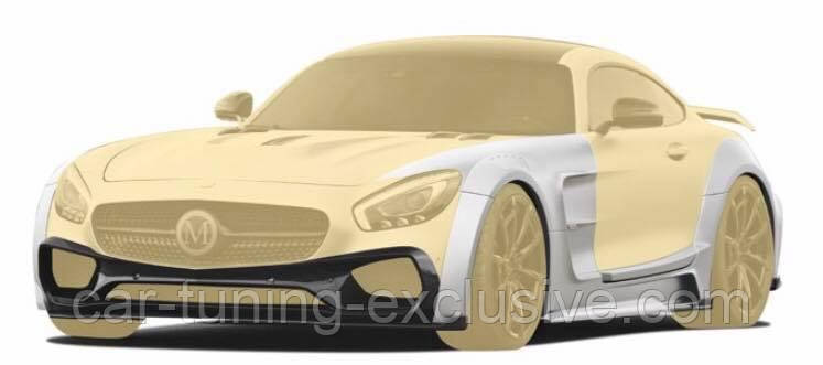 MANSORY Wide body kit for Mercedes AMG GT S С190