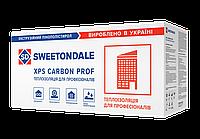Экструдированный пенополистирол CARBON ECO С/2 фрезерованный 1180*580*50