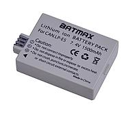 Аккумулятор Canon LP-E5 (BATMAX) 1500 mAh