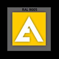 Порошковая Краска ETIKA RAL 9005 Матовый (Полиэфирная основа)