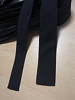 Галстук Atteks черный ровный - 1206-1