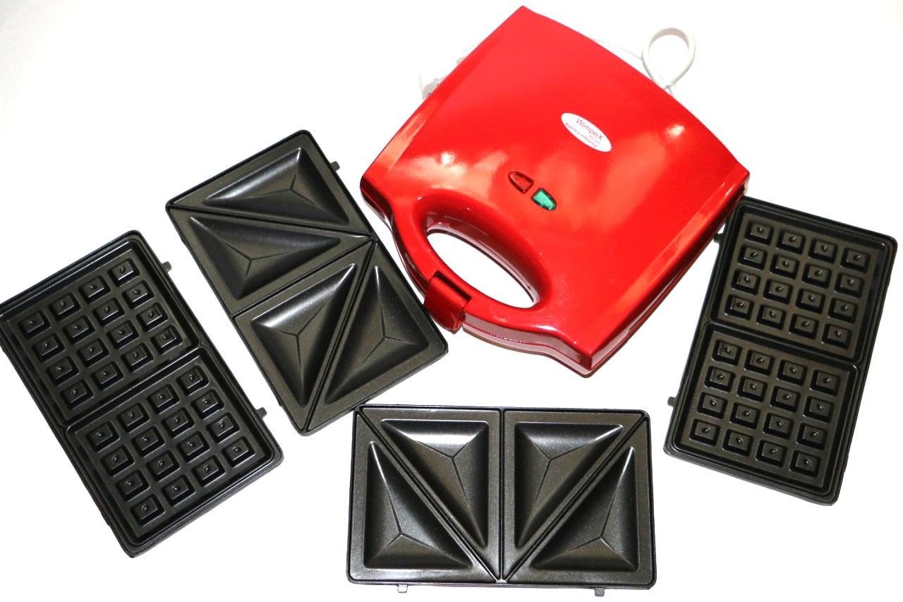 Тостер универсальный Wimpex 3в1 WX1056