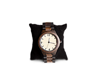 Деревянные наручные часы WoodenWatch Numeric ручной работы Разноцветный (hubber-169-29)