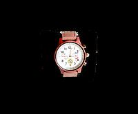 Деревянные наручные часы WoodenWatch Comandor ручной работы Коричневые (hubber-170-31)
