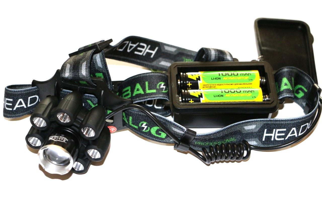Фонарь налобный Rablex WD472 Bluetooth