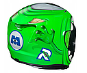 Мотошлем Hjc RPHA-11 Mike Wazowski Disney, фото 4