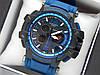 Наручные часы Casio G-Shock GPW-1000 авиатор синего цвета, красная стрелка