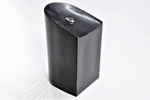 Каблук женский пластиковый 719 р.1-3  h-6,8-7,3 см., фото 2
