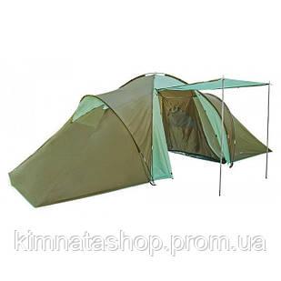 Палатка туристическая кэмпинговая Camping-6 цвет хаки