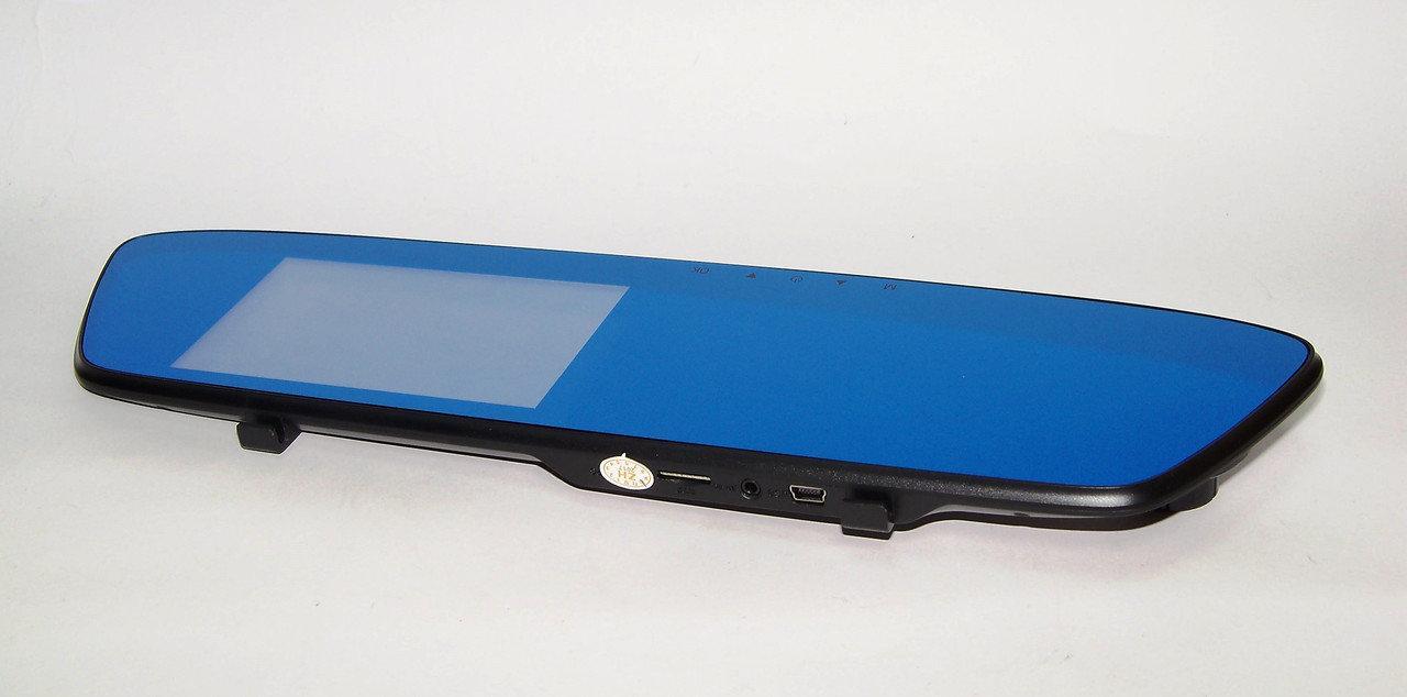 Зеркало видеорегистратор DVR T605 HD 2 камеры BlackBox 1080p серсорный экран