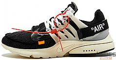 Женские кроссовки Nike Air Presto x Off-White AA3830-001, Найк Аир Престо