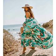 Пляжный яркий халат 146-76