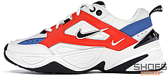 Женские кроссовки Nike M2K Tekno Summit White/Black-Team Orange AO3108-101