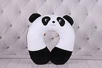 """Детская подушка """"Панда"""", Подголовник для детокпод шею, в автомобиль, воротник на шею, игрушка подушка"""