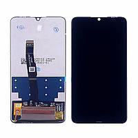 Дисплей для HUAWEI P30 Lite/Nova 4e 2019 с чёрным тачскрином