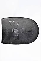 Каблук женский пластиковый 714 р.1-3  h-6,8-7,3 см., фото 3