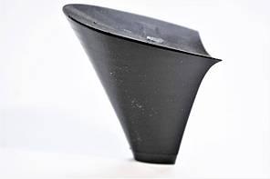 Каблук женский пластиковый 714 р.1-3  h-6,8-7,3 см., фото 2