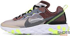 Женские кроссовки Nike React Element 87 Desert Sand AQ1090-002