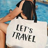 Пляжная сумка Beach Let's travel (KOTB_19I006)