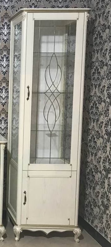 Пенал с витриной Микс Мебель Ривьера