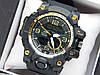 Наручные часы Casio G-Shock GG-1000 черные с золотым