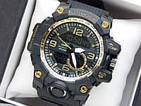Наручные часы Casio G-Shock GG-1000 черные с золотым, фото 1