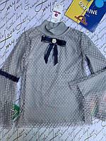 Школьная блузка для девочек  от 6 до 14 лет, фото 1