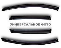Дефлекторы окон (ветровики) Volkswagen PASSAT B7 седан, 11-, 4ч., темный