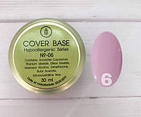 Cover Base Milano Luxury №6 30мл (гипоаллергенная)