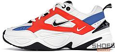 Мужские кроссовки Nike M2K Tekno Summit White/Black/Team Orange AV4789-100, Найк М2К Текно